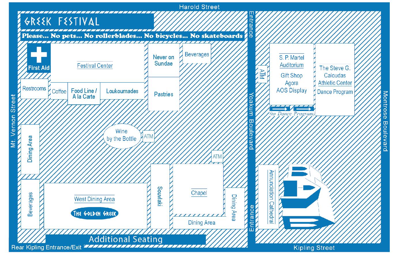 Festival Map 2021